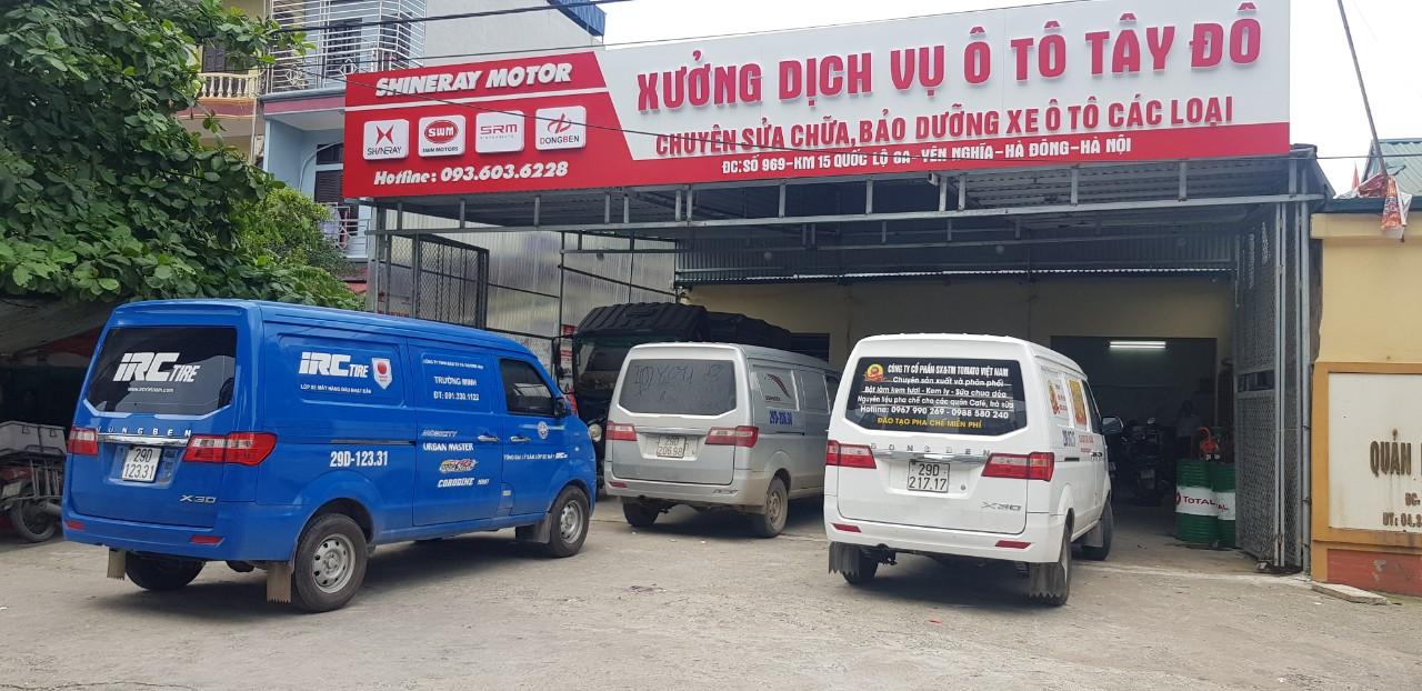 Xưởng dịch vụ ô tô Tây Đô Dongben X30