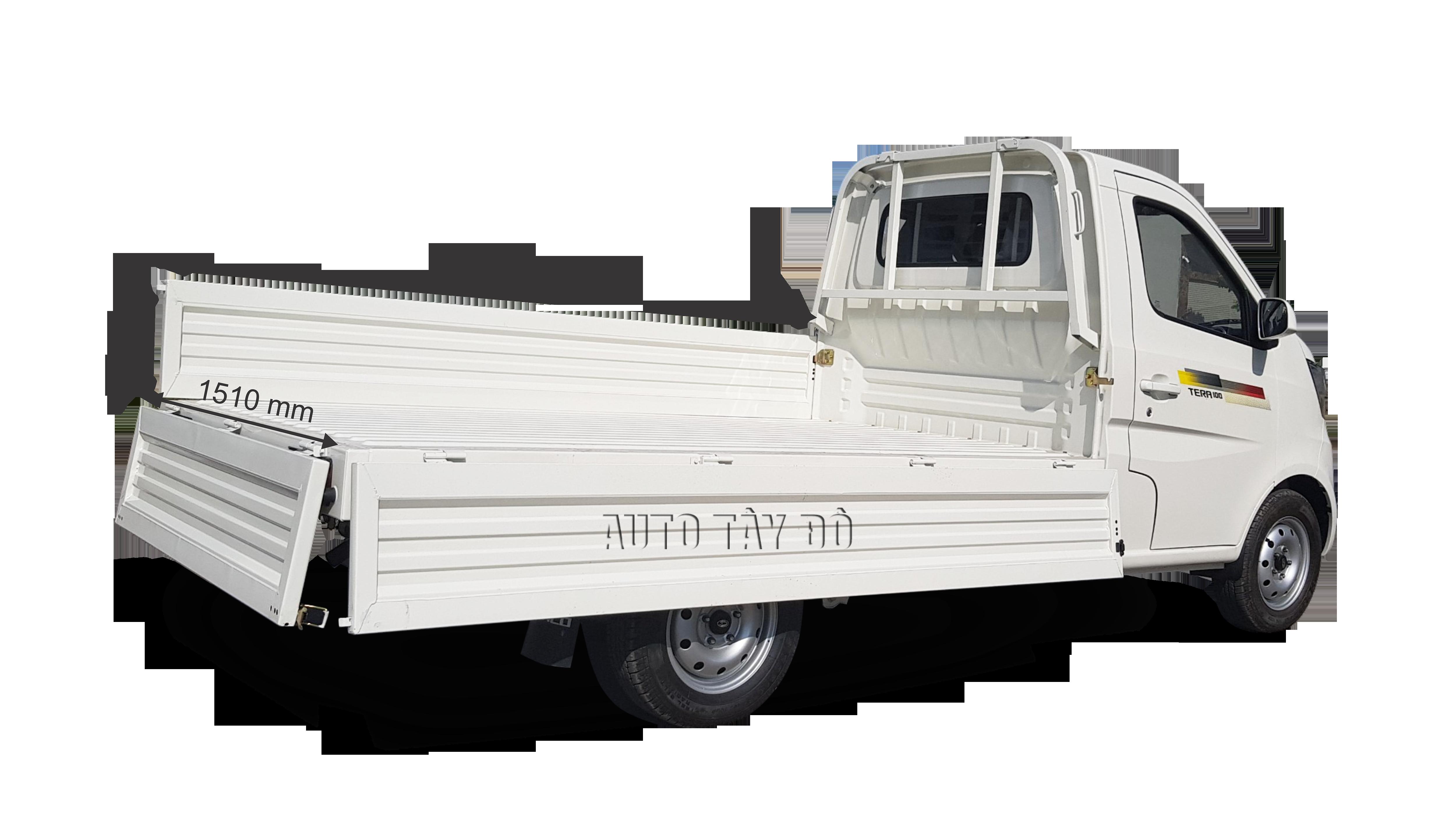 kích thước thùng xe tải 990 kg tera 100
