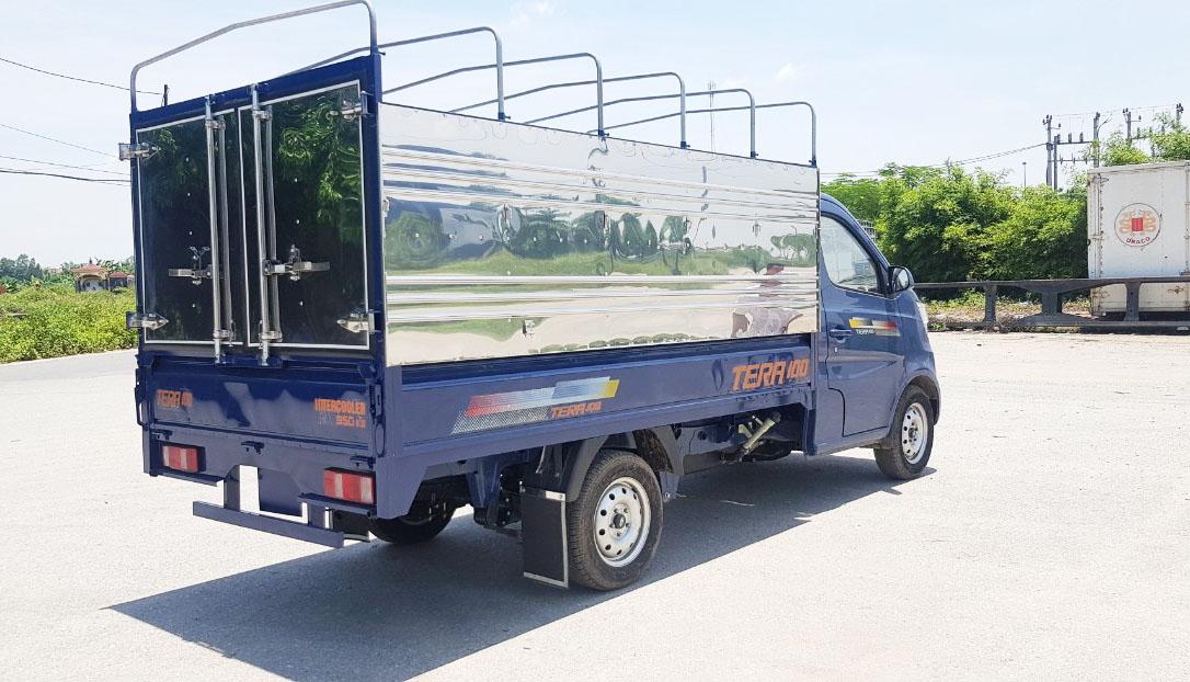 xe teraco 100 thùng bạt
